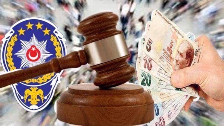 Şanlıurfa'da Kurallara Uymayan Onlarca Kişiye İdari Para Cezası