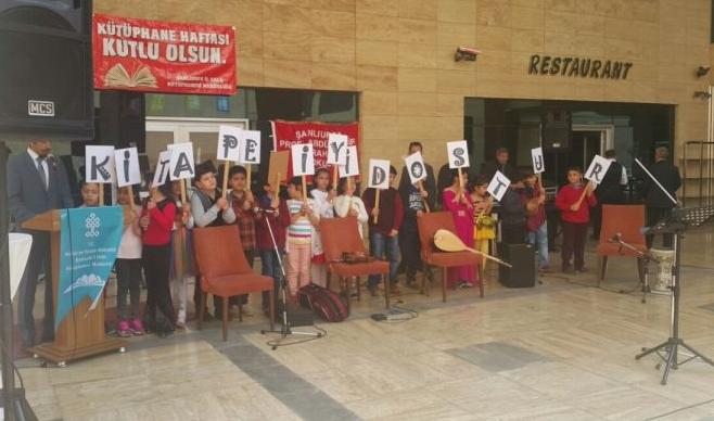 Şanlıurfa'da Kütüphane Haftası kutlandı