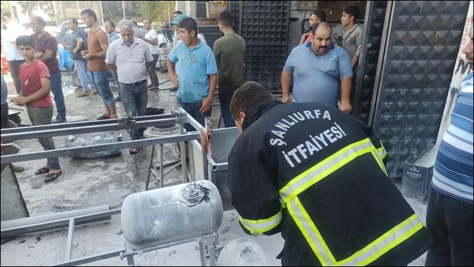 Şanlıurfa'da LPG deposu bomba gibi patladı:Çok sayıda yaralı
