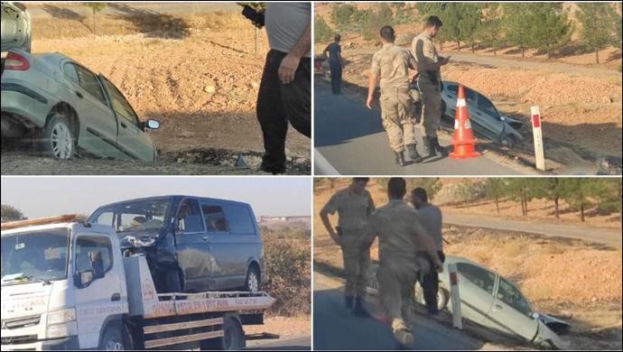 Şanlıurfa'da Minibüs ile Otomobil Çarpıştı:2 yaralı