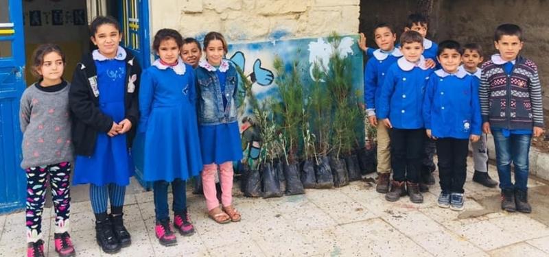 Şanlıurfa'da Okul Bahçeleri Güzelleşiyor