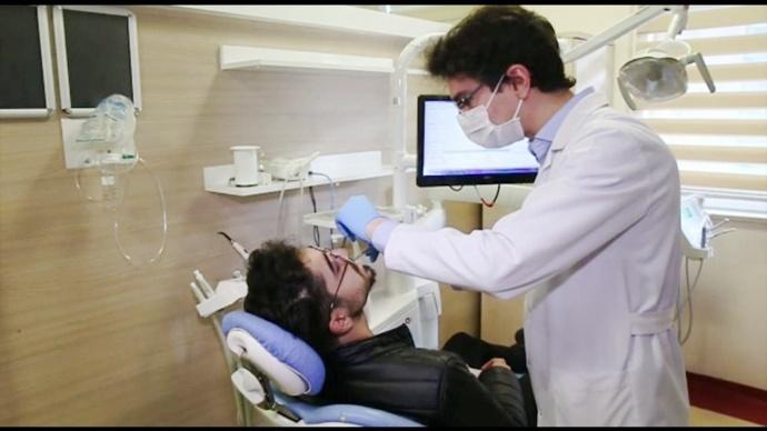 Şanlıurfa'da 'Ortodonti' Tedavisi Başladı-(Video)