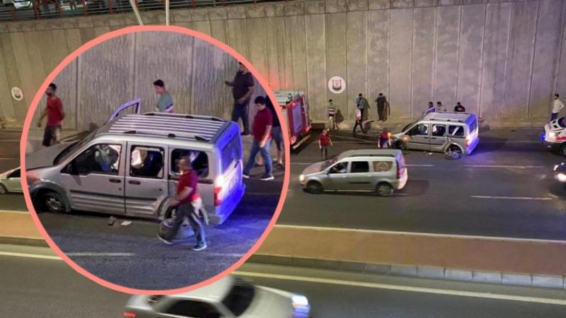 Şanlıurfa'da otomobil önce direğe sonra duvara çarptı: 2 yaralı-(Fotolu-Haber)