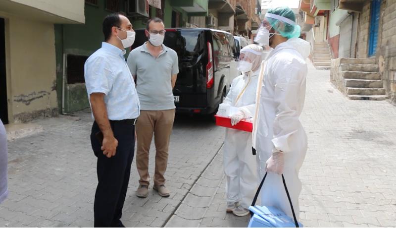 Şanlıurfa'da sağlık çalışanları bayramda da görev başında-(VİDEO)
