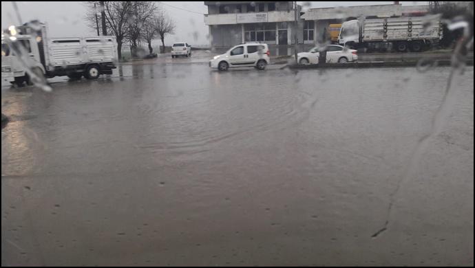 Şanlıurfa'da Şiddetli Yağış Etkisi