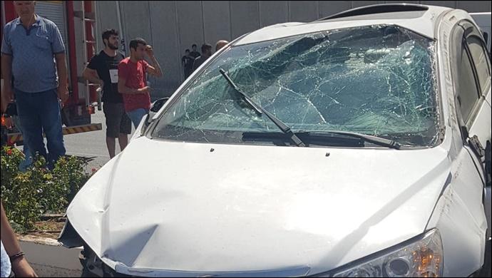 Şanlıurfa'da sıkışmalı trafik kazası: 1 yaralı