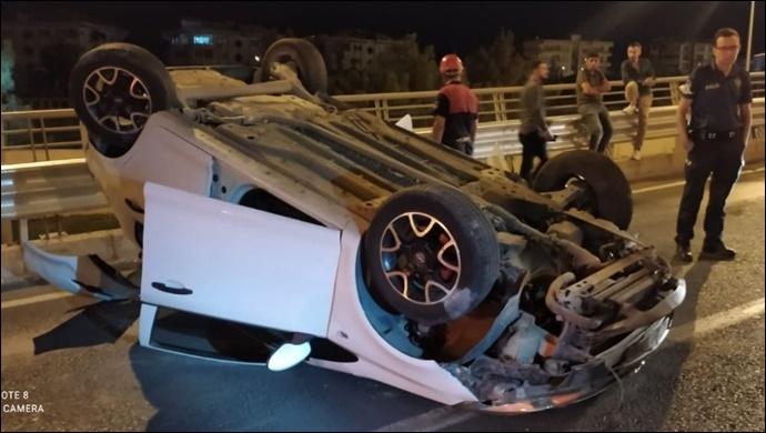 Şanlıurfa'da sıkışmalı kaza: 1 yaralı