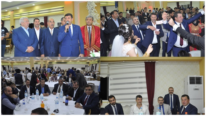 Şanlıurfa'da Siyaset Ve İş Dünyasını Buluşturan Düğün…