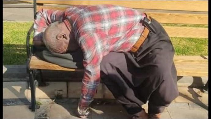 Şanlıurfa'da sokakta yaşayan yaşlı adam ölü bulundu