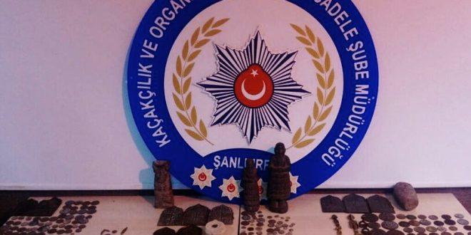 Şanlıurfa'da Tarihi Eser Operasyonu:4 Gözaltı