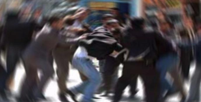 Şanlıurfa'da taşlı sopalı kavga, 2 yaralı