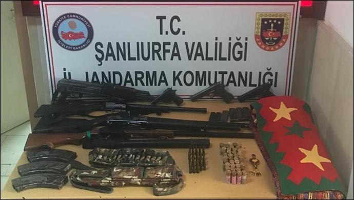 Şanlıurfa'da Terör Operasyonu:10 Gözaltı