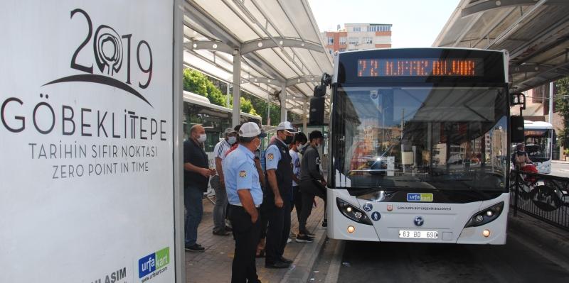 Şanlıurfa'da Toplu Taşıma Araçlarında 'Klima' Denetimi-(VİDEO)
