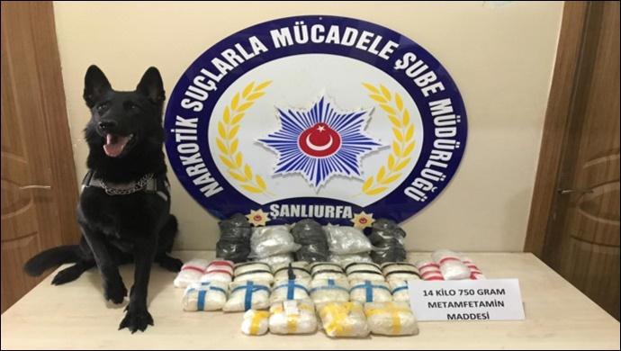 Şanlıurfa'da Uyuşturucu Operasyonu:1 Gözaltı (VİDEOLU)