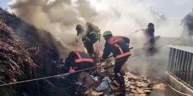 Şanlıurfa'da yangın …