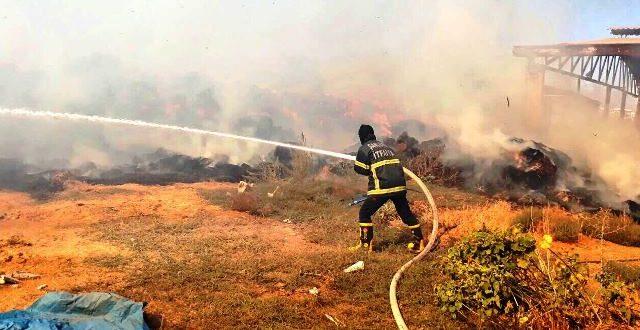 Şanlıurfa'da yangın: Maddi hasar büyük