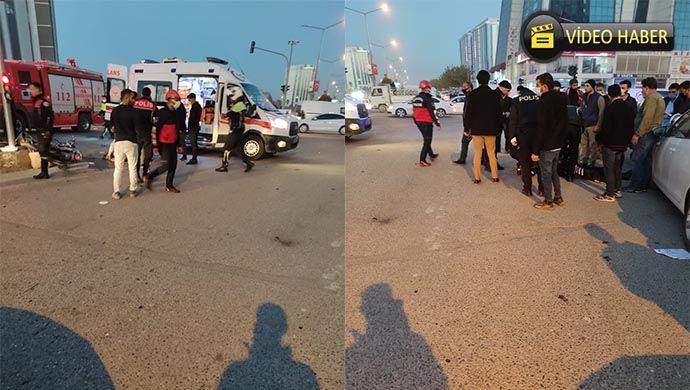 Şanlıurfa'da yunus polisleri kaza yaptı: 1 yaralı