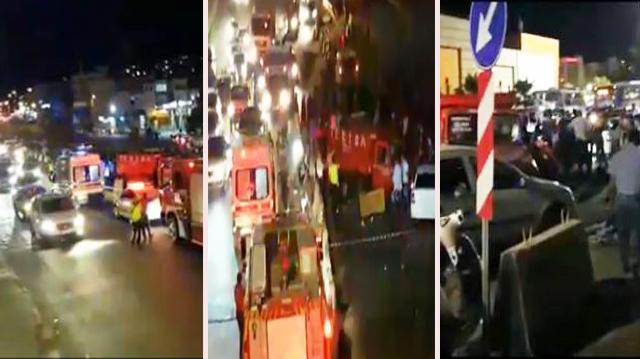 Şanlıurfa'da Zincirleme Trafik Kazası: 7 Yaralı