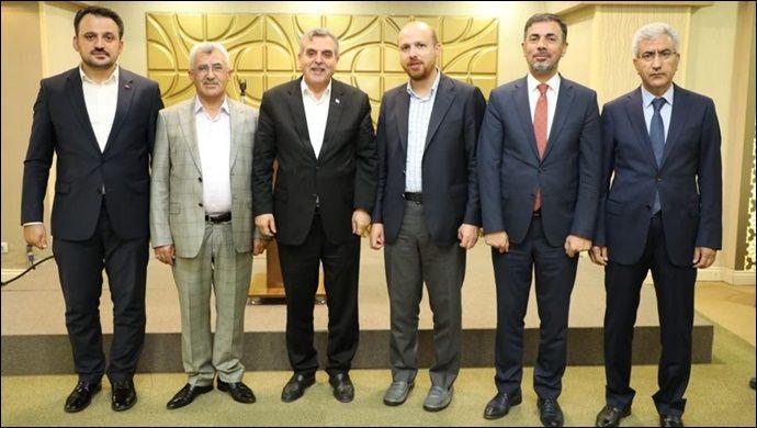 Şanlıurfa'da,Eğitime destek için Erdoğan'la bir araya geldiler
