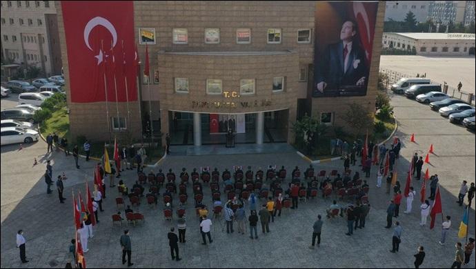 Şanlıurfa'daki 29 Ekim töreninde CHP yoktu! Çağrılmadı mı katılmadı mı?-(VİDEO)