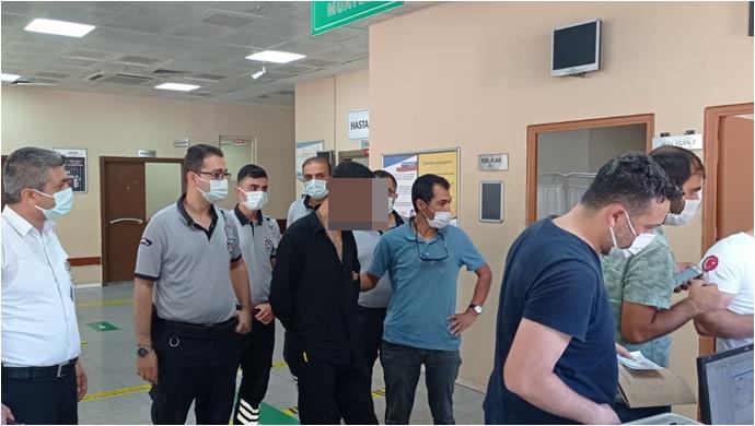 Şanlıurfa'daki Hastane hırsızları kıskıvrak yakalandı