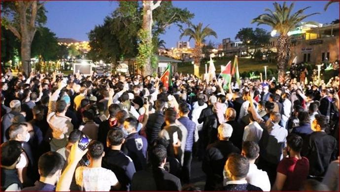 Şanlıurfa'daki STK'lardan İsrail'e Tepki