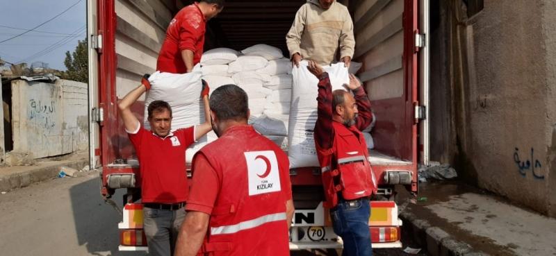 Şanlıurfa'dan Sınır Ötesine İnsani Yardım
