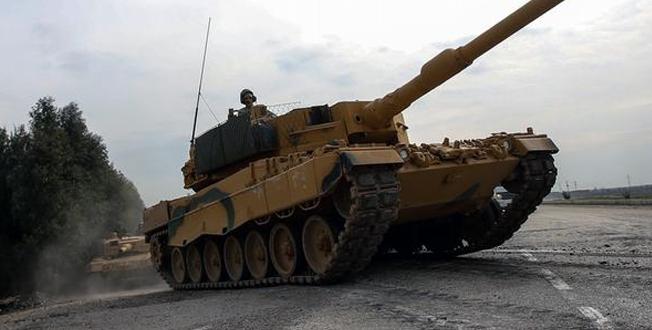 Şanlıurfa'dan sınıra askeri sevkiyat sürüyor