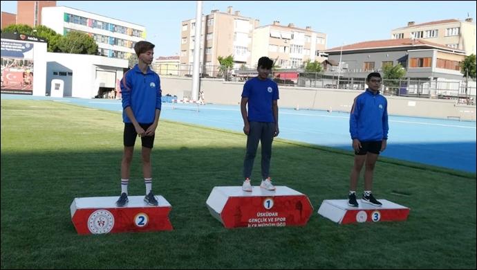 Şanlıurfalı atletten büyük başarı: Marmara Bölge Şampiyonu oldu-(VİDEO)