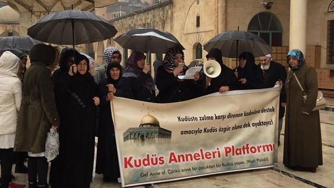 Şanlıurfalı Kudüs Anneleri 103. Kez Eylem Yaptı-(Videolu)