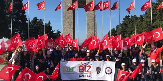 Şanlıurfalı Öğrenciler İstanbul Ve Çanakkale'yi Gezdi