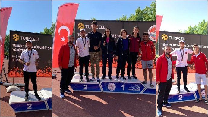 Şanlıurfalı Sporcu 5 Bin Metrede Türkiye İkincisi Oldu