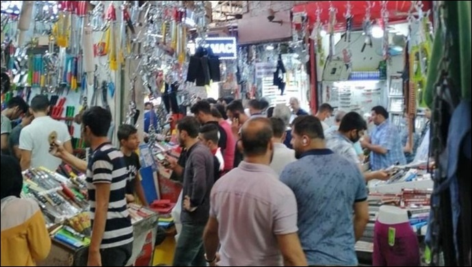 Şanlıurfalı vatandaşlar Bıçakçı Pazarı'nın yolunu tuttu