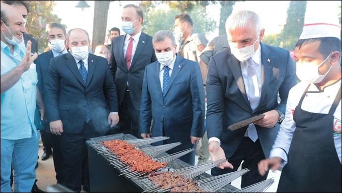 """Şanlıurfa'nın """"Gastronomi Merkezi"""" Törenle Açıldı-(VİDEO)"""