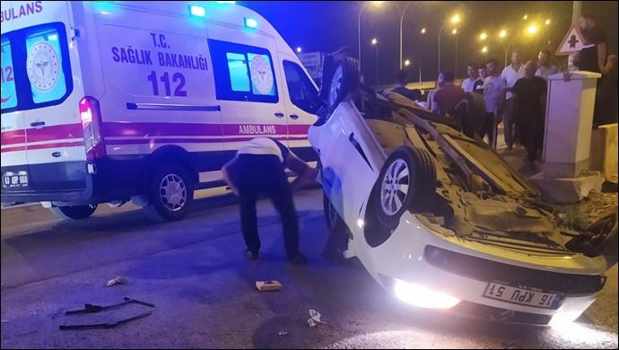 Şanlıurfa'nın göbeğinde akıl almaz kaza! 2 yaralı