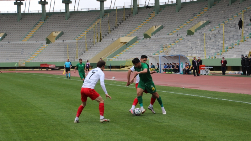 Şanlıurfaspor : 3 puana 3 golle uzandı