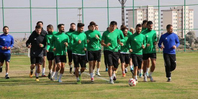 Şanlıurfaspor, Bugsaşspor maçının hazırlıklarını sürdürüyor
