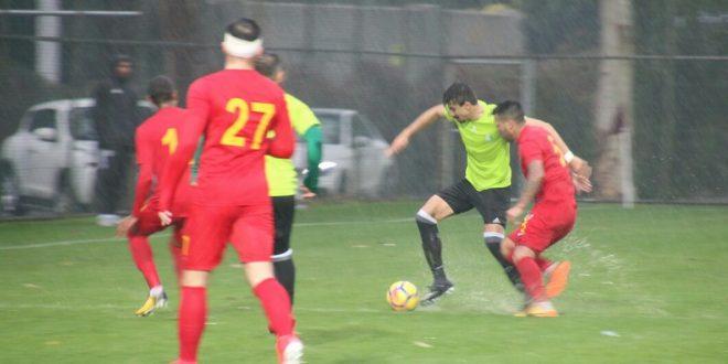 Şanlıurfaspor Hazırlık maçında Kayserispor ile berabere kaldı