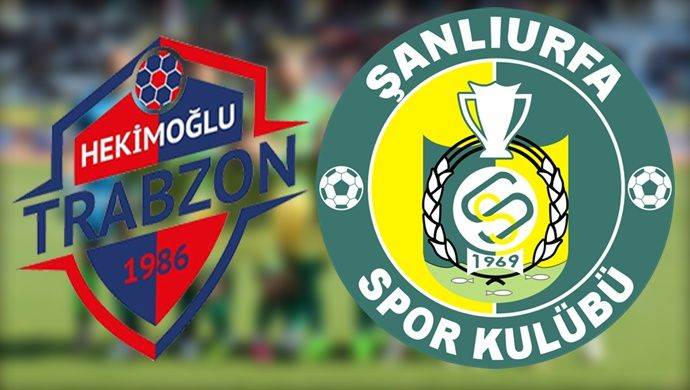 Şanlıurfaspor-Hekimoğlu Trabzon'a konuk olacak! Zorlu Hekimoğlu Trabzon virajında !