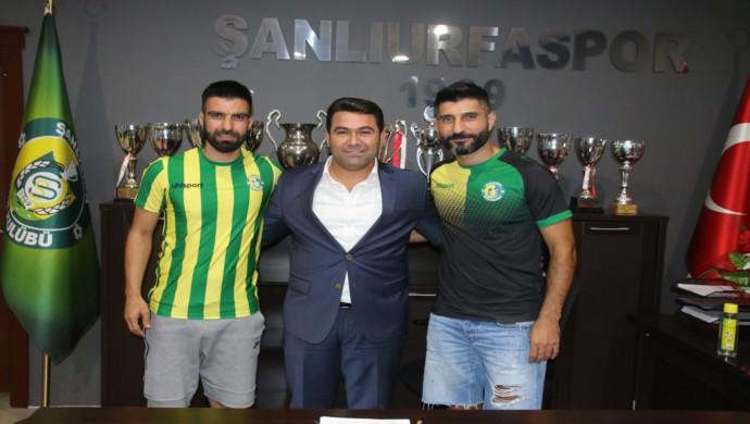 Şanlıurfaspor İç Transferde 2 Futbolcu İle Anlaştı