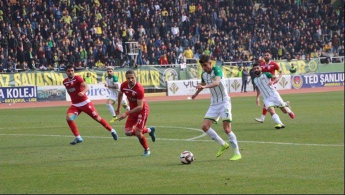Şanlıurfaspor-Kahramanmaraşspor rekabetinde 35. randevu!