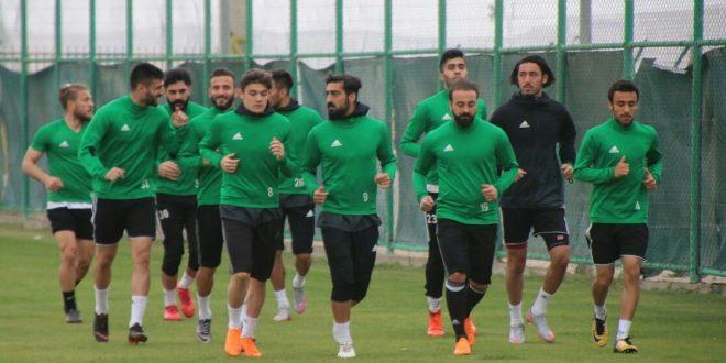 Şanlıurfaspor-Pendikspor maçının hazırlıklarına başladı