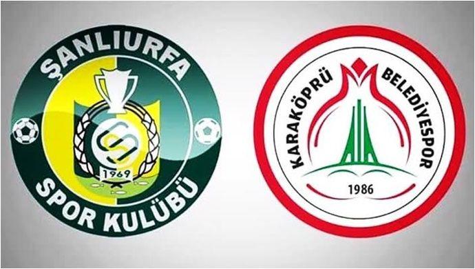 Şanlıurfaspor Ve Karaköprü Belediyespor'un Maç Programı