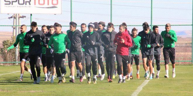 Şanlıurfaspor, Zonguldak maçının hazırlıklarını sürdürüyor