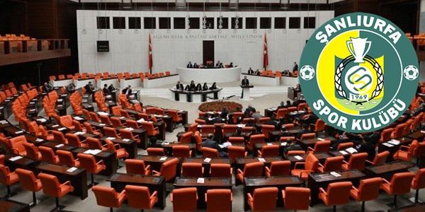 Şanlıurfaspor'a verilen cezayı meclise bir tek o taşıdı