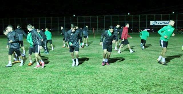 Şanlıurfaspor'da Bugsaşspor maçının hazırlıkları başladı