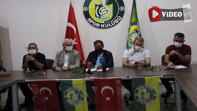 Şanlıurfaspor'da son durum ne! Kulüp Başkanı Yetim açıkladı