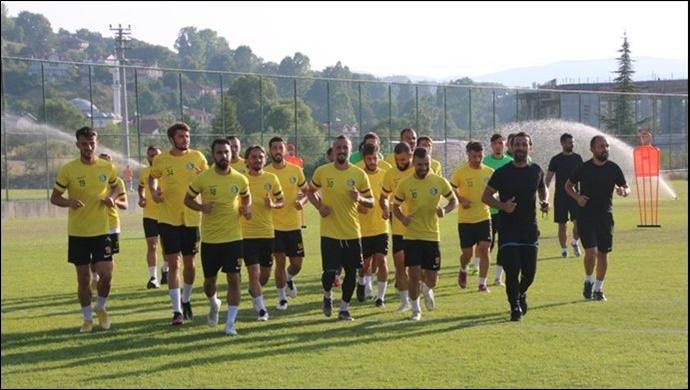 Şanlıurfaspor'un Bolu Kampı Hız Kesmeden Devam Ediyor-(VİDEO)