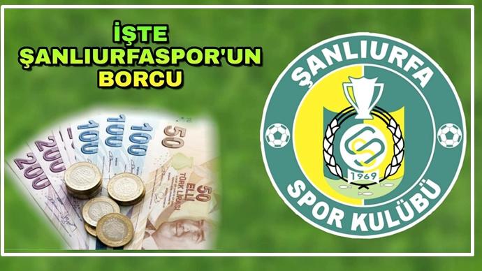 Şanlıurfaspor'un Yeni Borcu Açıklandı-(Videolu)