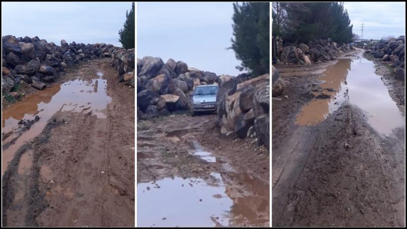 Sarıören Mahalle Sakinleri Yollarının Yapılmasını İstiyor-(VİDEOLU)